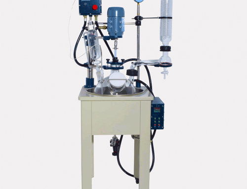 50L Single Layer Chemical Lab Glass Reactor Vessel