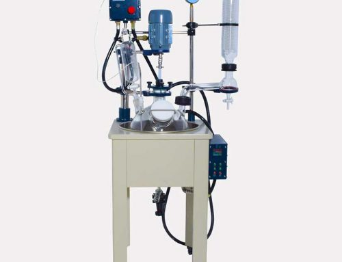 100L Single Jacketed Glass Reactor for sale