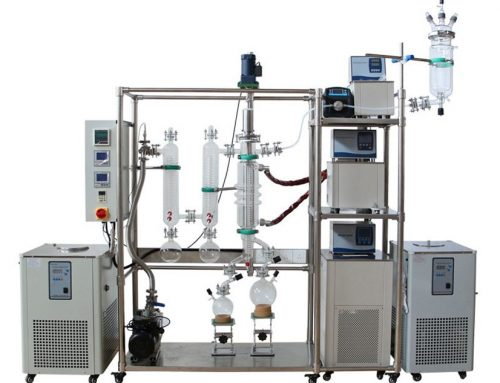 Molecular Distillation essential oil distillation apparatus for sale