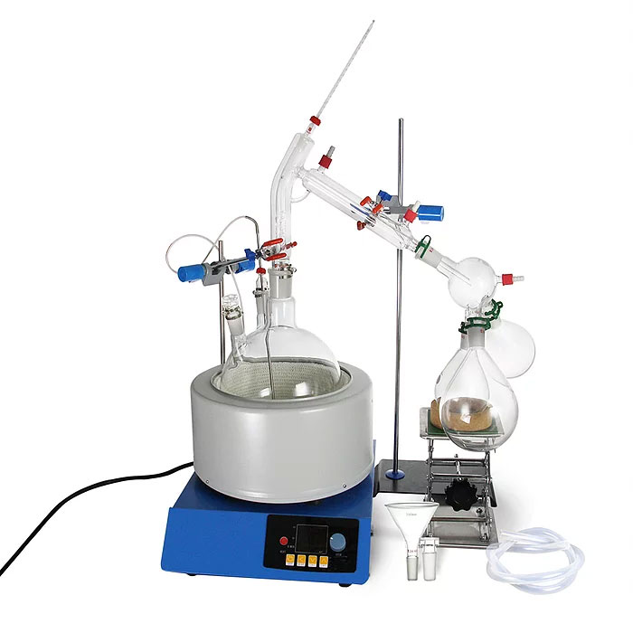 short path distillation setup equipment for sale