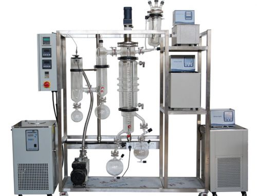 Molecular Distillation System essential oil steam distillation setup