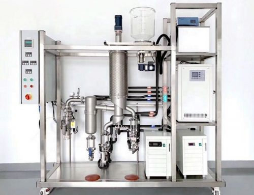 Essential Oil Distillation Equipment One Stage Stainless Steel Molecular Distillation