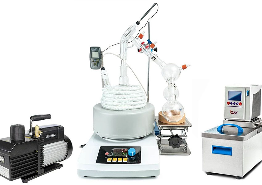 Vacuum Pumps Used in Cannabis Distillation