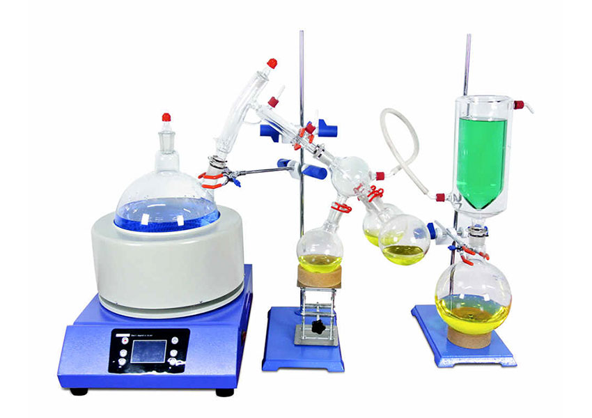 What are the different types of distillation process