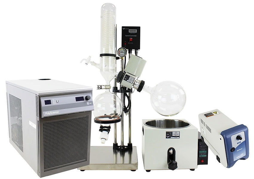 advantage of rotary evaporator over conventional distillation systems