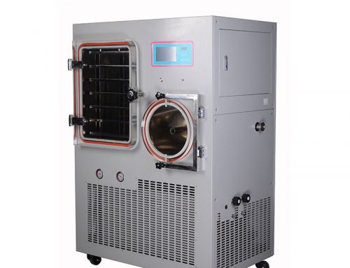 Chemical material freeze drying pilot freeze dryer
