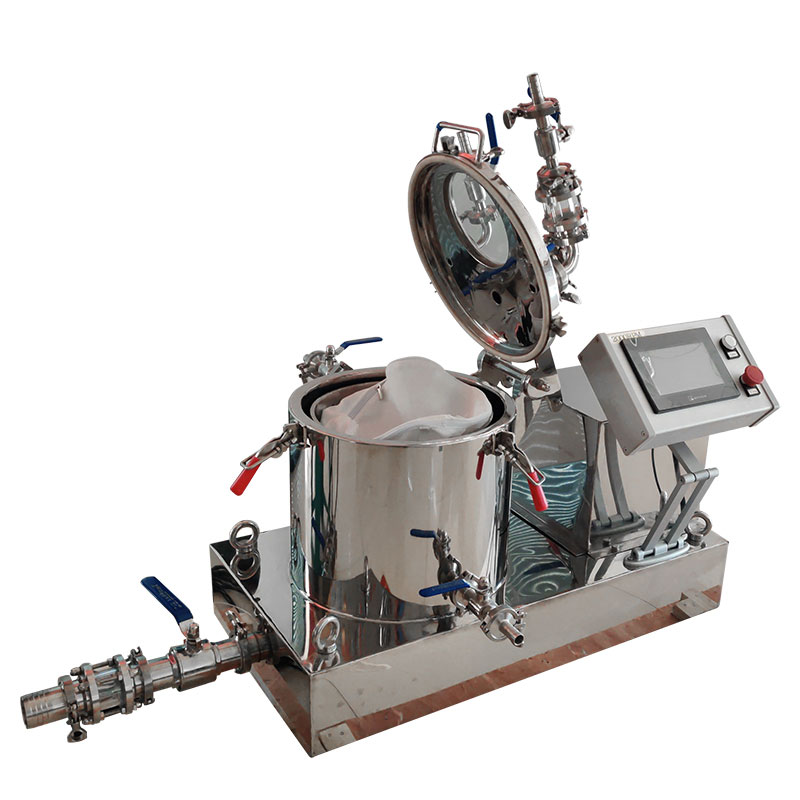 Industrial hemp oil extraction centrifuge