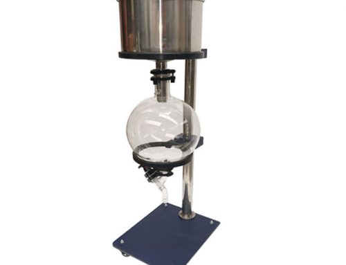 Vacuum filtration buchner funnel with filter