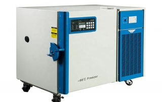 Used Ultra low temperature freezers (ULT freezers) in Modern Lab