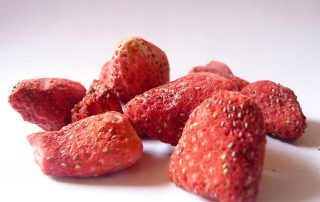 How to freeze drying strawberries at home