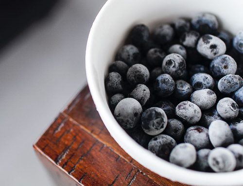 How to freeze drying blueberries?