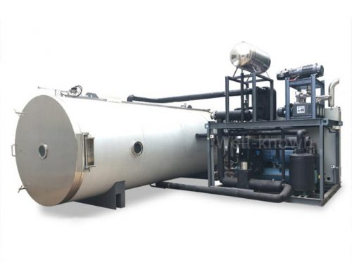 Large Industrial Vacuum Freeze dryer for vegetables and fruits
