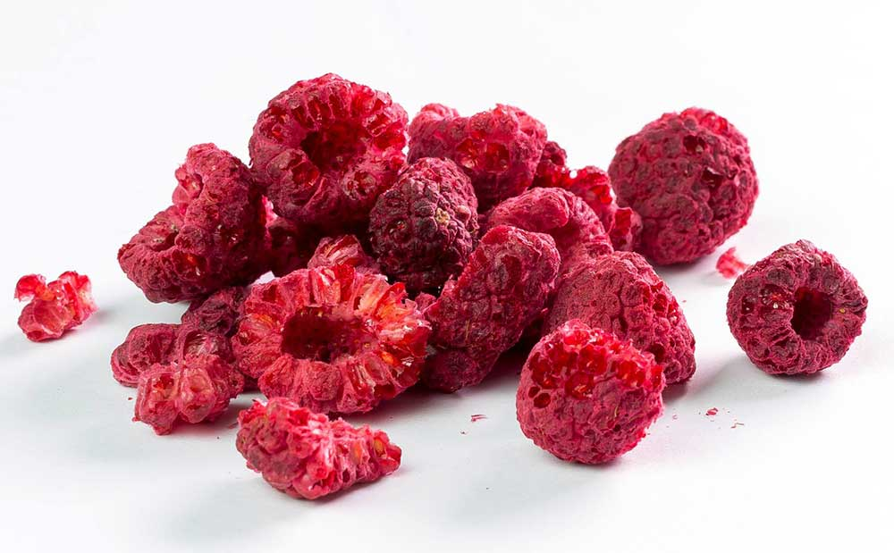 Freeze-dried-Raspberries