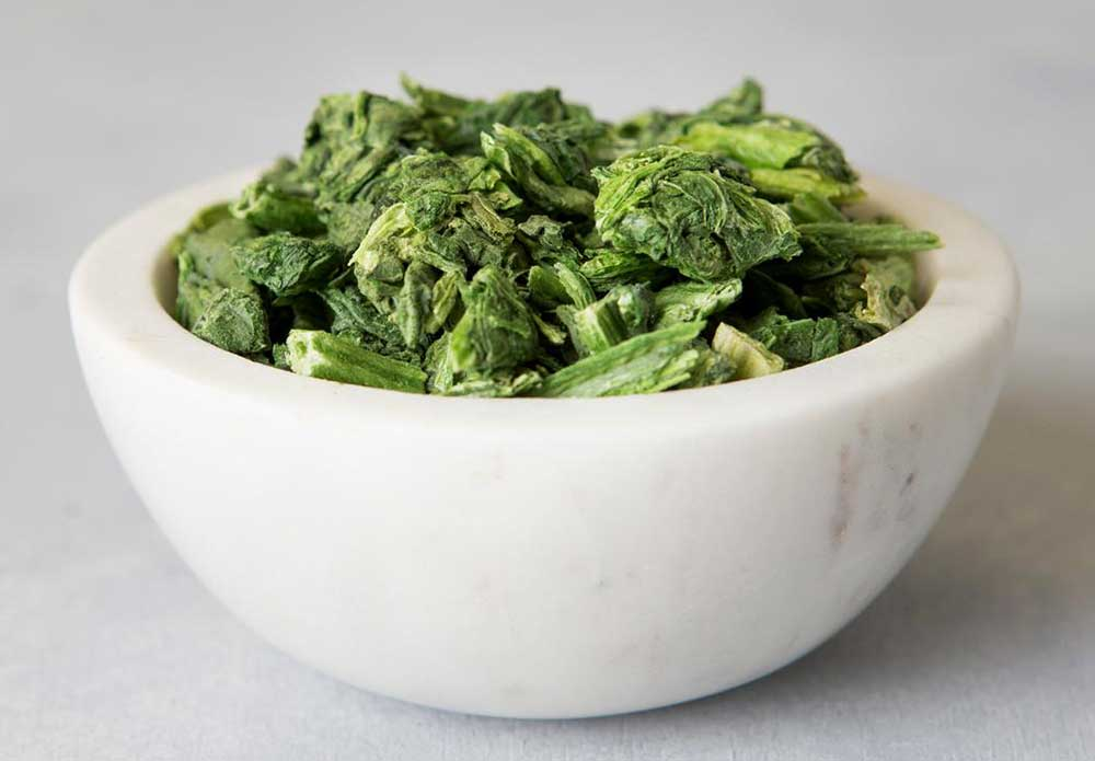 freeze-dried-Spinach
