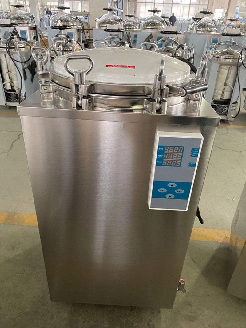 What is the working principle of autoclave 02